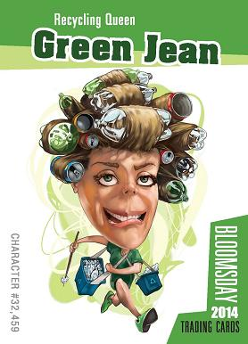 Green Jeane Front