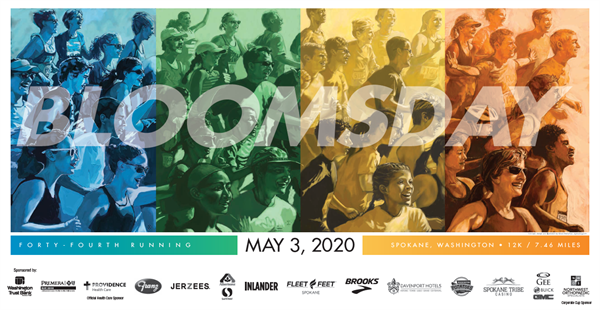 Bloomsday 2020 Promotion Poster