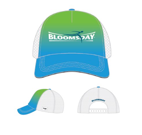 Lime-Blue BOCO Hat